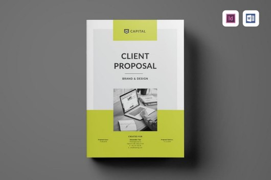 Client Proposal Word Brochure Template