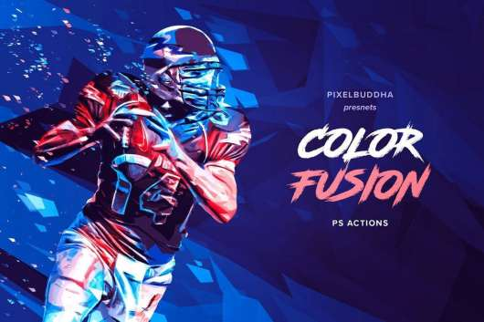 Color Fusion Photoshop Actions