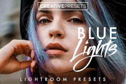 Cool Blue Effects Lightroom Presets