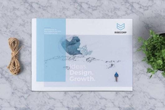Creative Brochure Template A5