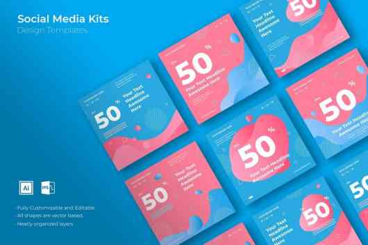 Creative Marketing Social Media Kit