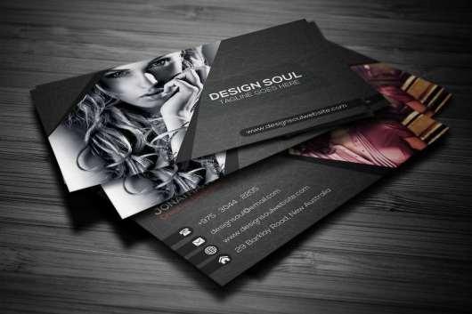 Dark Photography Business Card