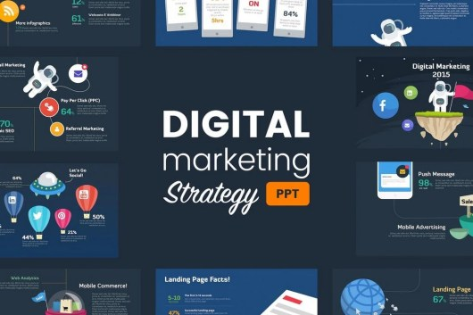 Digital Marketing Strategy Powerpoint Template