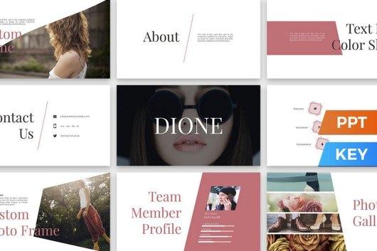 Dione - Modern PowerPoint Presentation Template