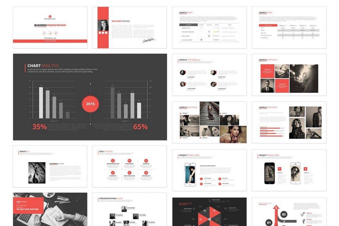 60+ Beautiful, Premium PowerPoint Presentation Templates 40