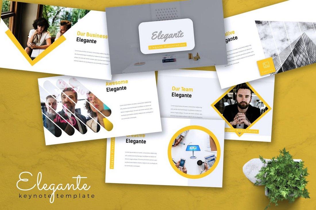 ELEGANTE - Keynote Template