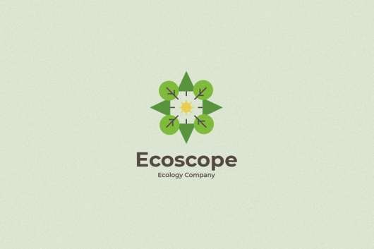 Ecoscope Logo Template