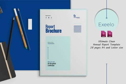 Elegant Annual Report Template
