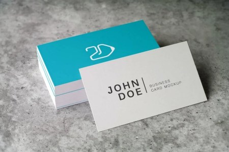 70  Corporate   Creative Business Card PSD Mockup Templates   Design     Elegant Business Card Mockup
