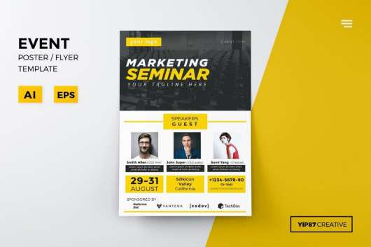 Event & Conference Flyer Template