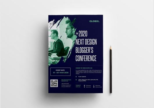 Event & Conference Poster Template