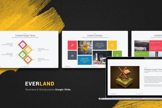 Everland Multipurpose & Creative Google Slide