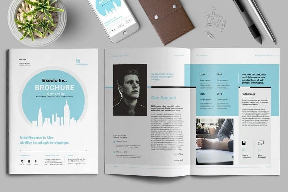 70+ Modern Corporate Brochure Templates 24
