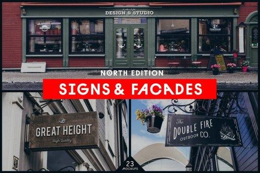 Facades & Sign Mockups