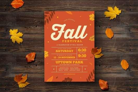 Fall Festival Event Flyer