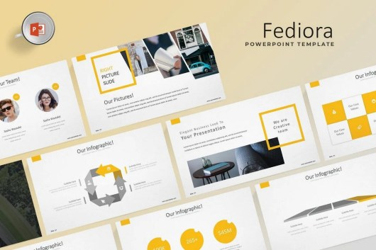 Fediora - Powerpoint Template