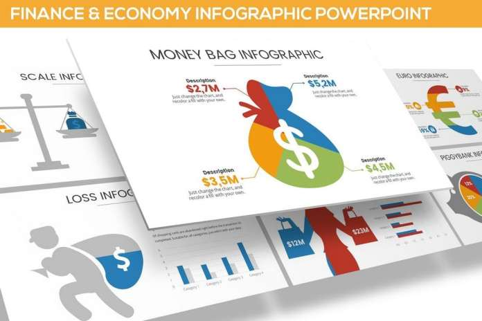 Finance & Economy Infographic for Powerpoint