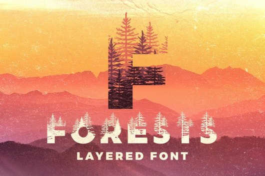 Forests Poster Font