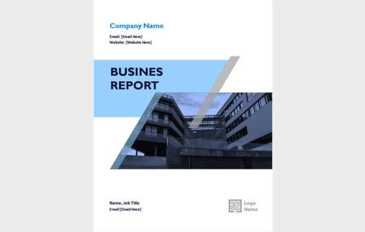 Free Annual Report Template Word