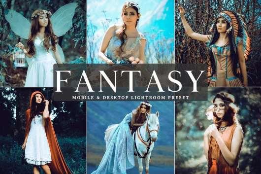 Free Fantasy Mobile & Desktop Lightroom Preset