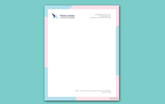 Free Personal Letterhead Template