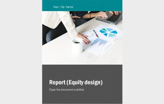 Free Yearly Business Report - Word