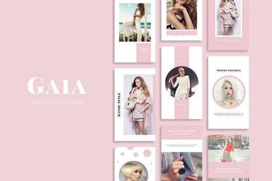 Gaia - 33 Instagram Story Template