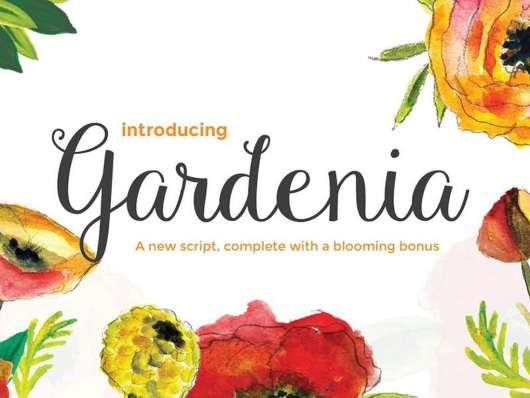 Gardenia Script
