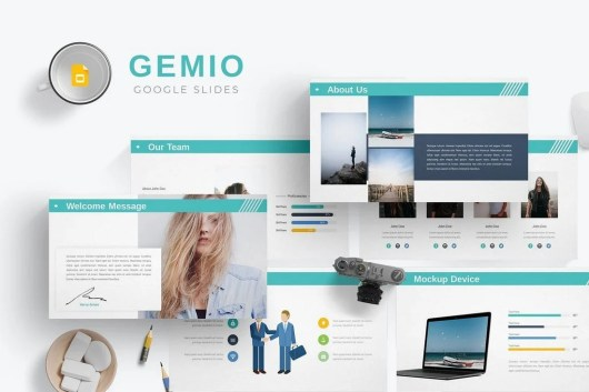 Gemio - Google Slides Template