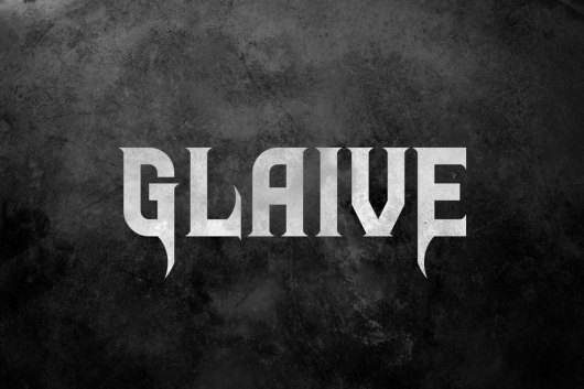 Glaive Gothic Typeface