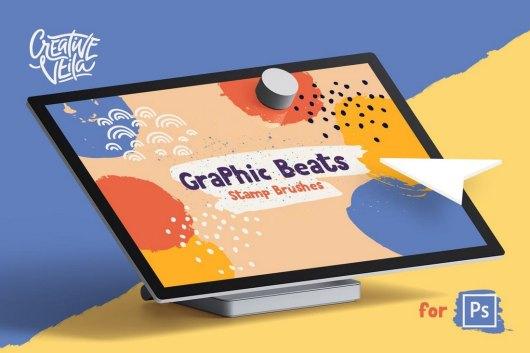 Graphic Beats Photoshop Brushes