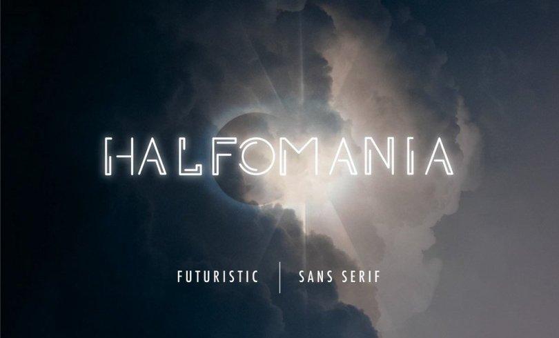 Halfomania - Free Sans-Serif Font