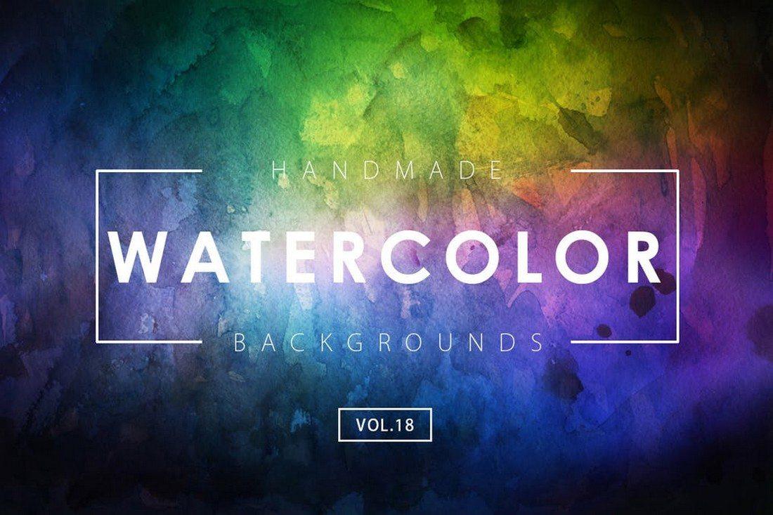 20+ Best Watercolor Background Textures 38