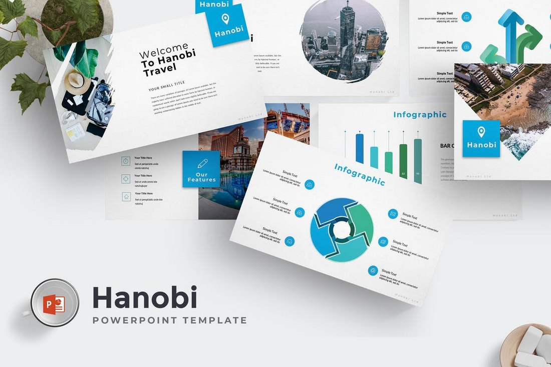 Hanobi - Powerpoint Template