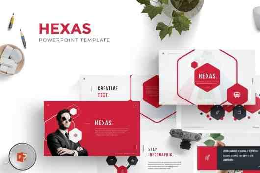 Hexas - Beautiful Powerpoint Template