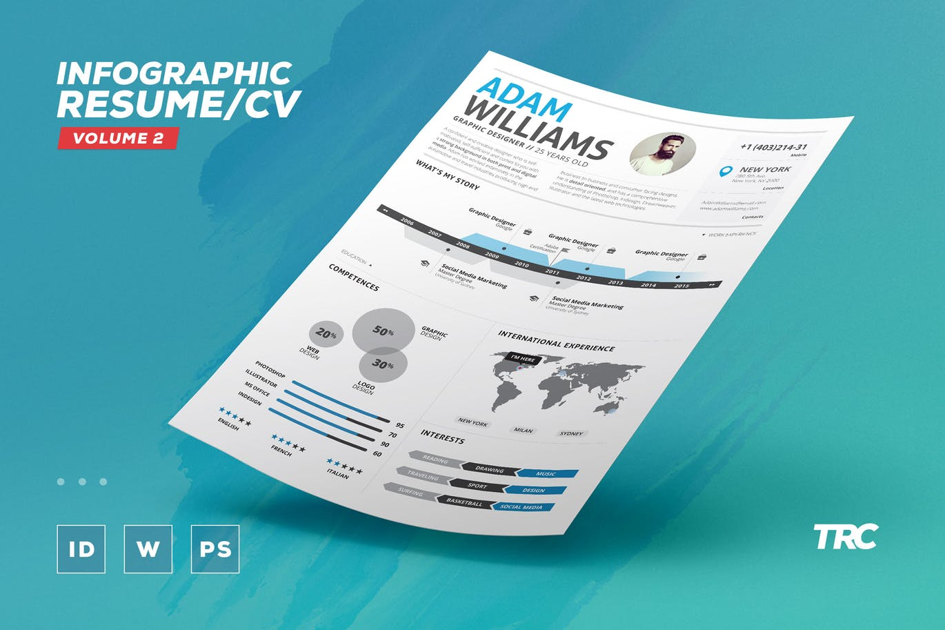 The Best CV & Resume Templates: 50 Examples 11