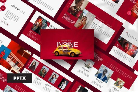 Insine - Powerpoint Template