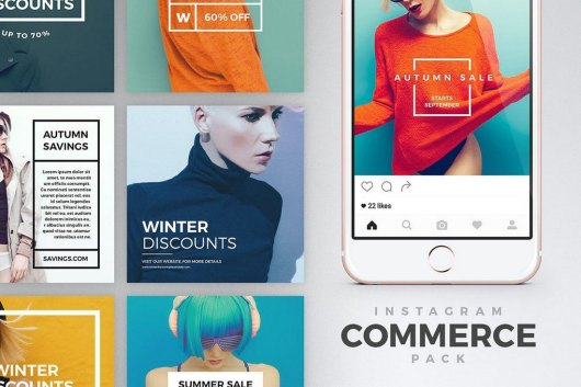 Instagram eCommerce Banners Pack