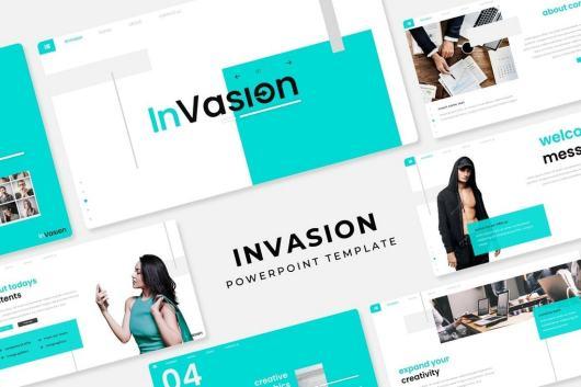 Invasion - Trendy PowerPoint Template