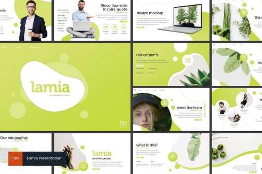 Lamia - Minimal PowerPoint Template