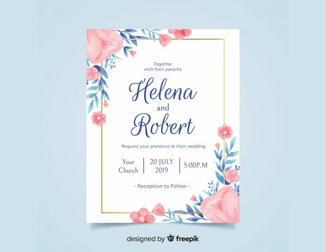 20 Best Free Invitation Templates Design Shack