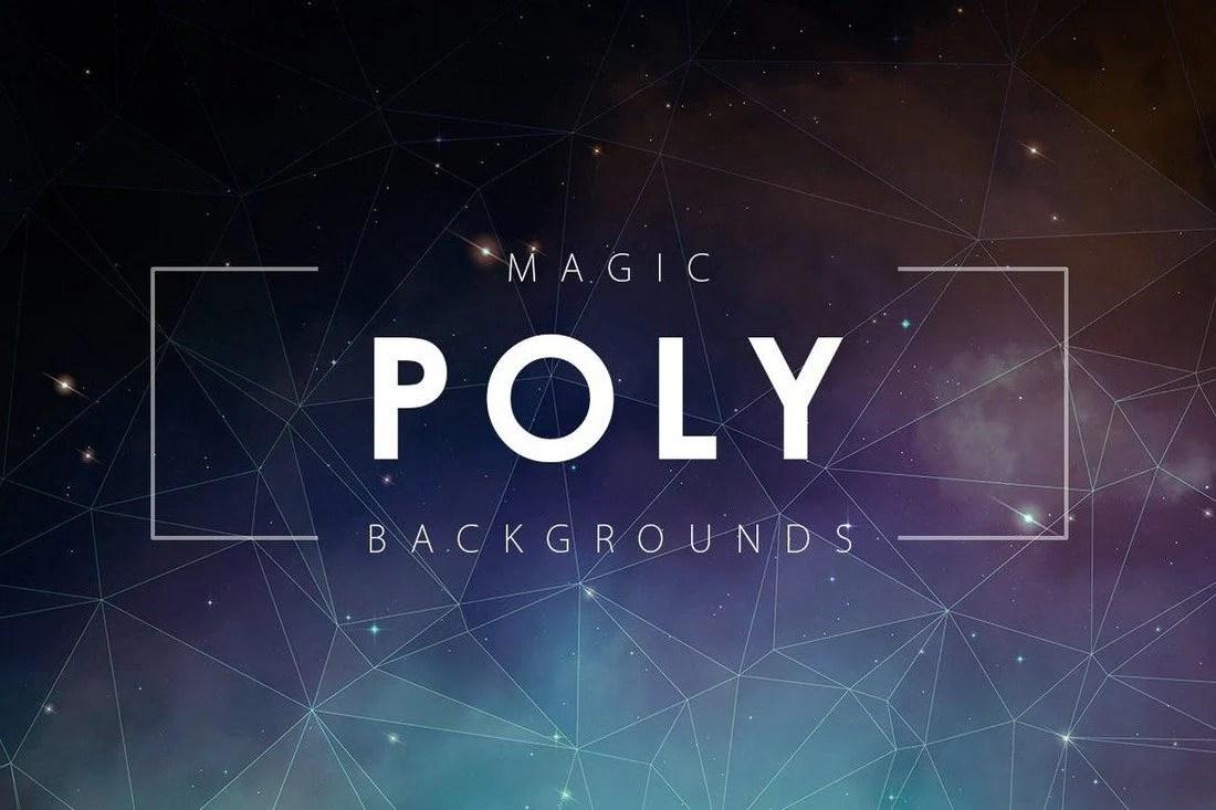 20+ Beautiful Geometric & Polygon Background Textures 64