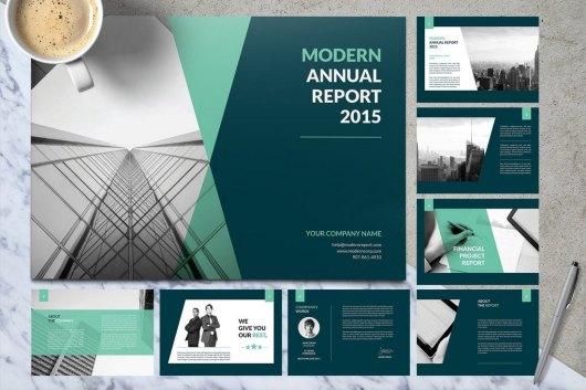 Material Annual Report Template