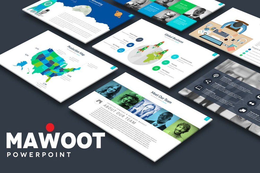 60+ Beautiful, Premium PowerPoint Presentation Templates 37