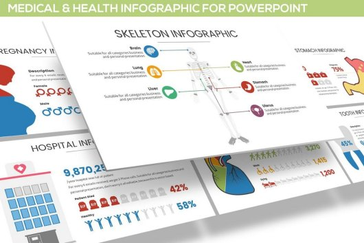 Medical & Health Infographics PowerPoint Template