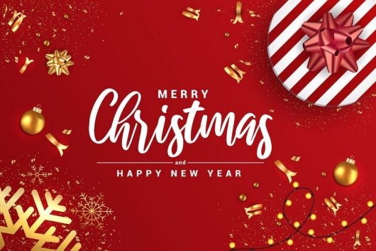 Merry Christmas & Happy New Year Banners