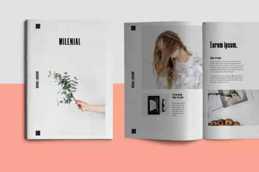 Millenial - InDesign Brochure Template