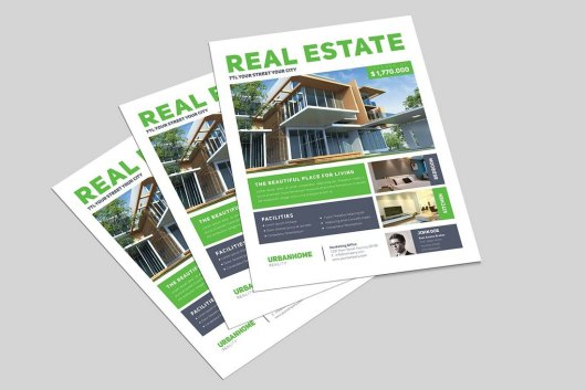 Minimal Real Estate Flyer 2