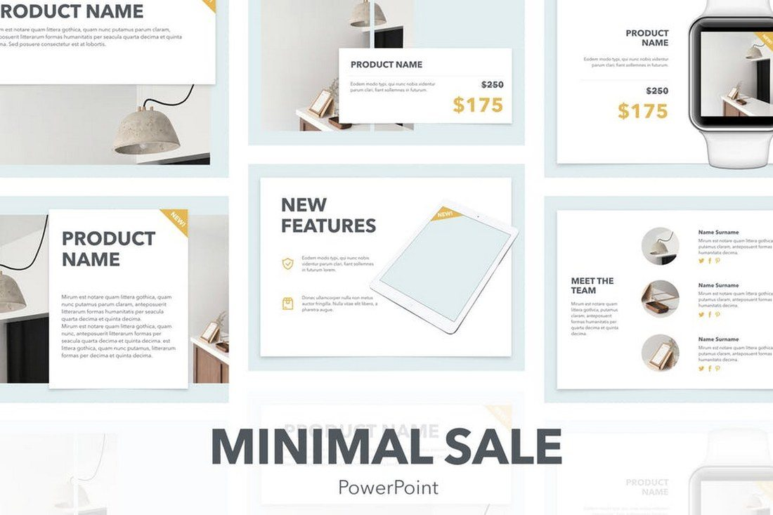 60+ Beautiful, Premium PowerPoint Presentation Templates 44