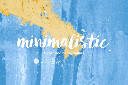 Minimalistic Watercolor Textured Backgrounds